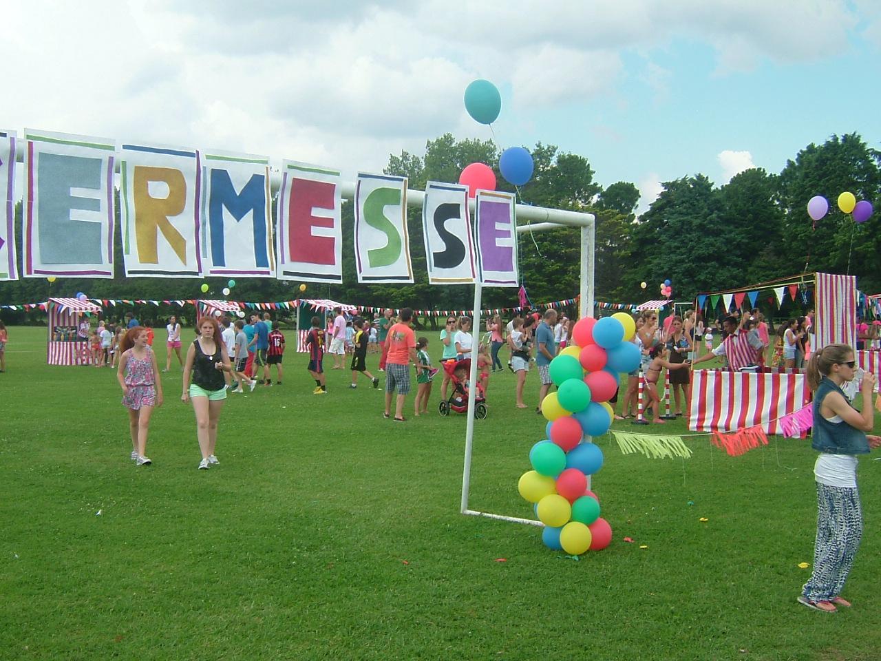 Colegios Con Gran Kermese Kermesse Time Puestos Y Juegos De